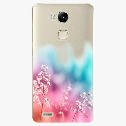 Plastový kryt iSaprio - Rainbow Grass - Huawei Mate7