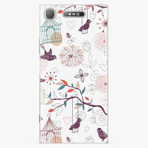 Plastový kryt iSaprio - Birds - Sony Xperia XZ1