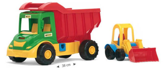 WADER Auto multitruck s nakladačem 32210
