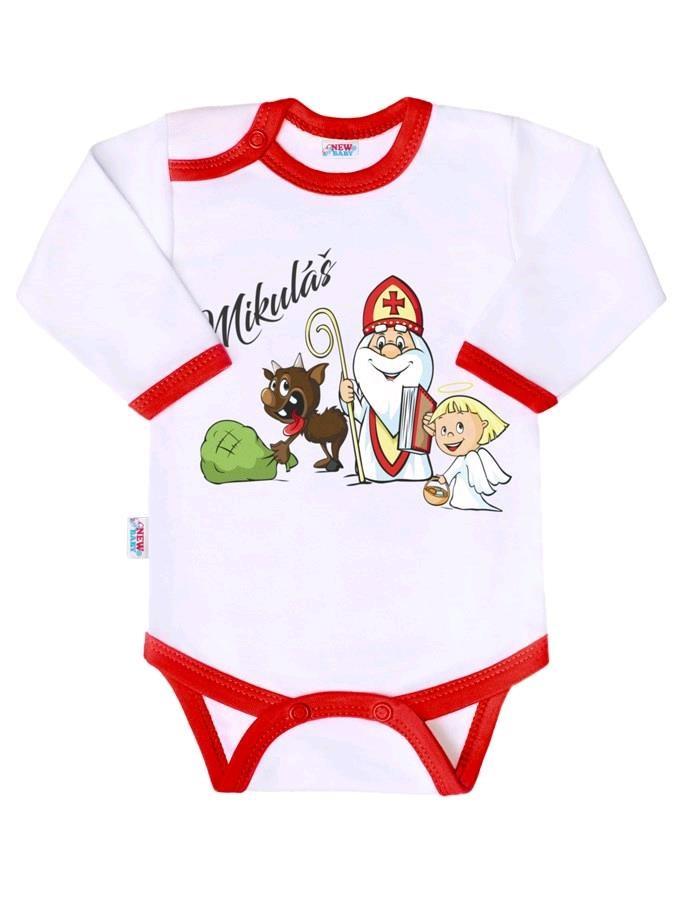 Body s potiskem New Baby Mikuláš - dle