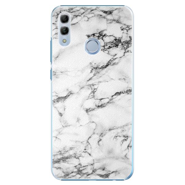 Plastové pouzdro iSaprio - White Marble 01 - Huawei Honor 10 Lite