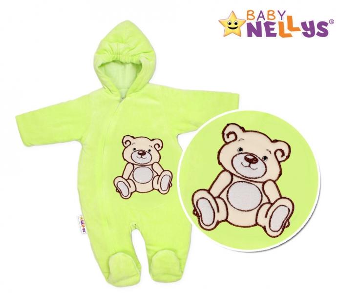 BABY NELLYS Kombinézka/overálek Teddy