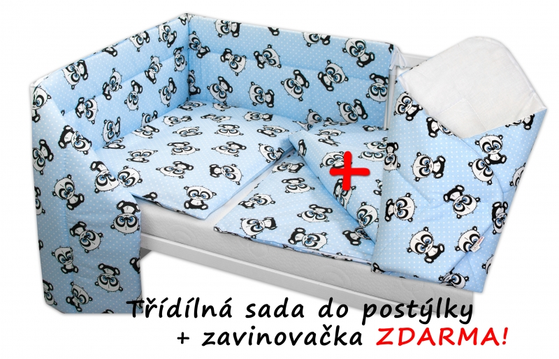 3-dilna-sada-mantinel-s-povlecenim-135x100-zavinovacka-zdarma-baby-panda-modra-135x100