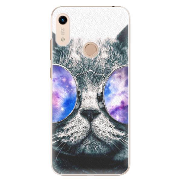 Plastové pouzdro iSaprio - Galaxy Cat - Huawei Honor 8A