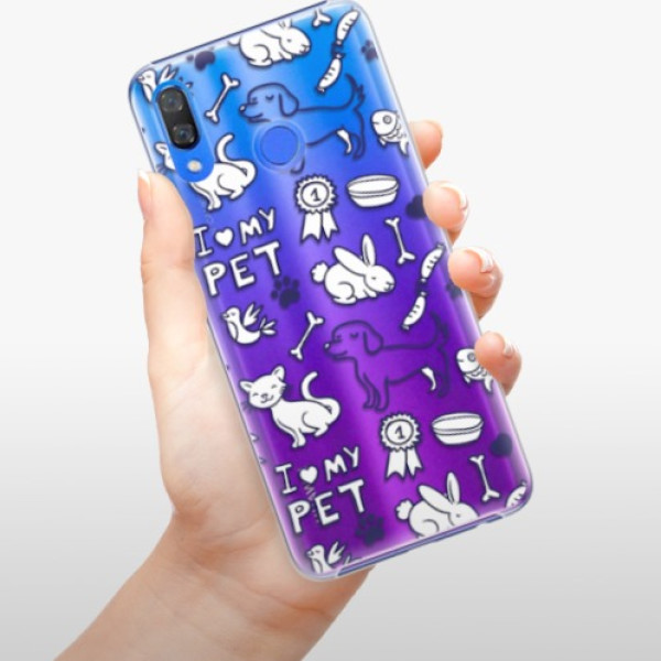 Plastové pouzdro iSaprio - Love my pets - Huawei Y9 2019