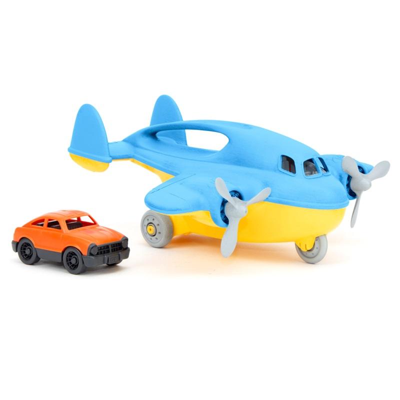 Green Toys Dopravní letadlo modré