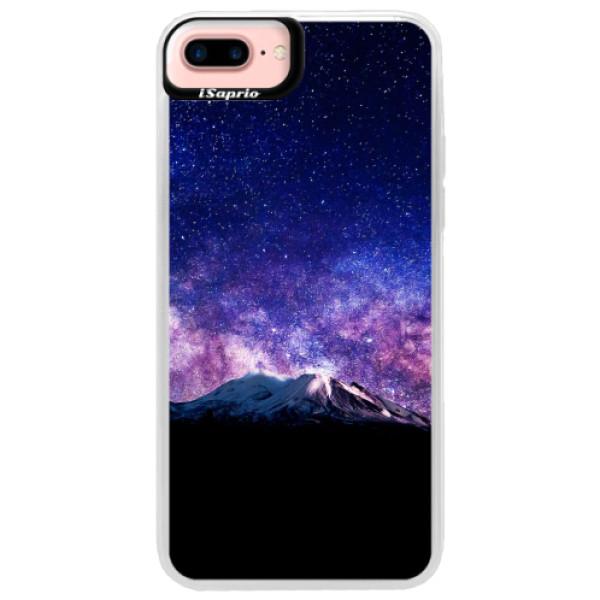 Neonové pouzdro Pink iSaprio - Milky Way - iPhone 7 Plus