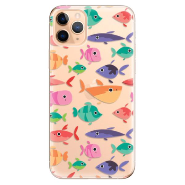 Odolné silikonové pouzdro iSaprio - Fish pattern 01 - iPhone 11 Pro Max