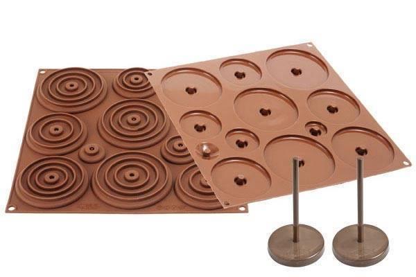 Silikonová forma na čokoládu – 3D kraslice