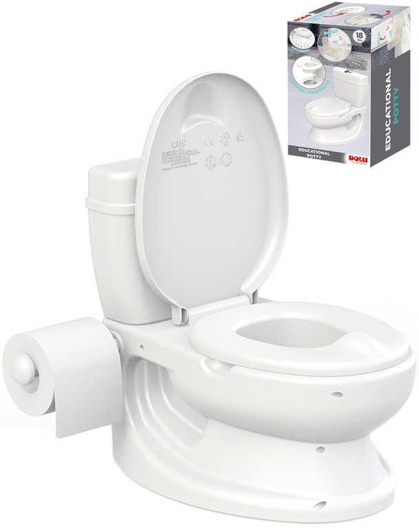 DOLU Baby nočník toaleta 38x39x28cm záchod pro děti plast pro miminko