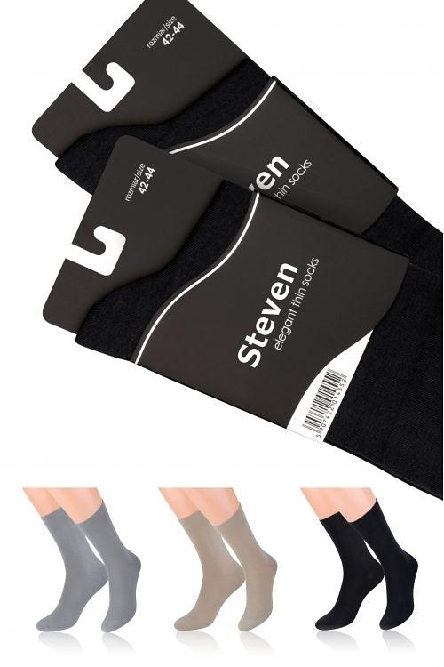 Pánské ponožky Elegant 107 - Steven - Černá/39-41