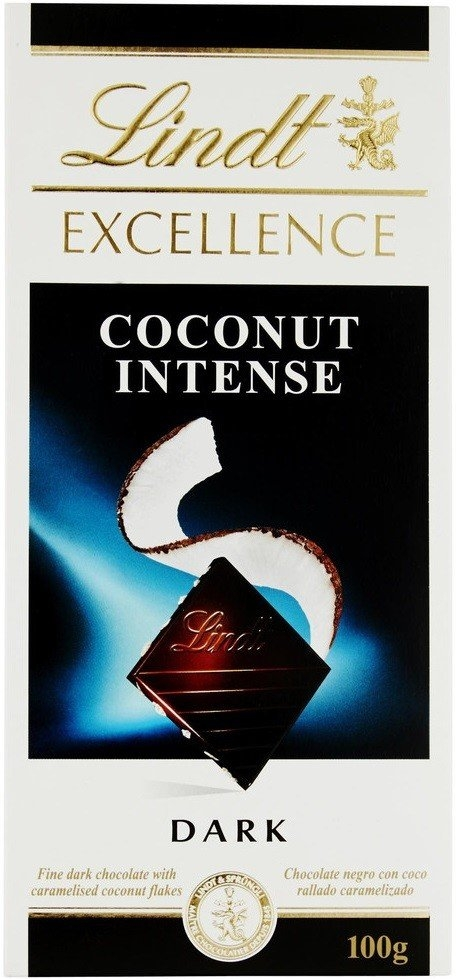 Lindt Excellence Coconut Intense 100 g