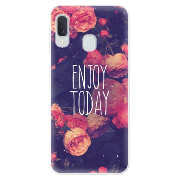 Odolné silikonové pouzdro iSaprio - Enjoy Today - Samsung Galaxy A20e