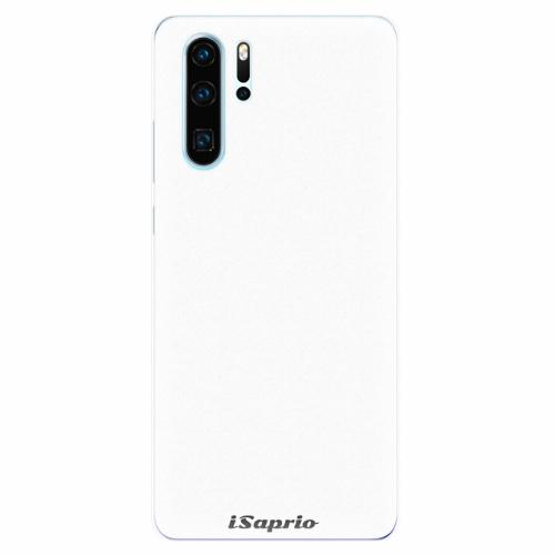 Silikonové pouzdro iSaprio - 4Pure - bílý - Huawei P30 Pro