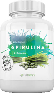 Allnature BIO Spirulina 120g 240 tablet