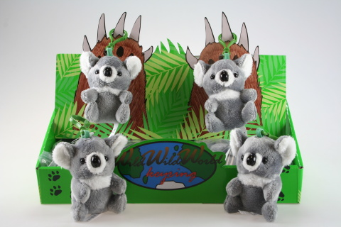 Plyš Koala klíčenka