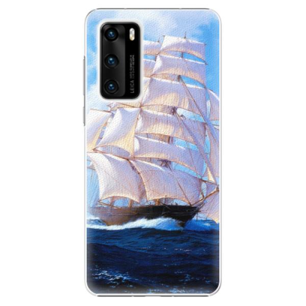 Plastové pouzdro iSaprio - Sailing Boat - Huawei P40