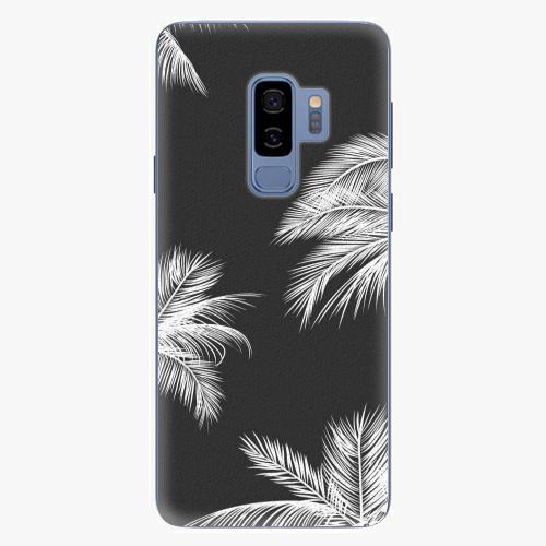Plastový kryt iSaprio - White Palm - Samsung Galaxy S9 Plus