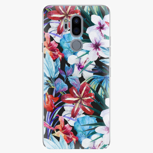 Plastový kryt iSaprio - Tropical Flowers 05 - LG G7