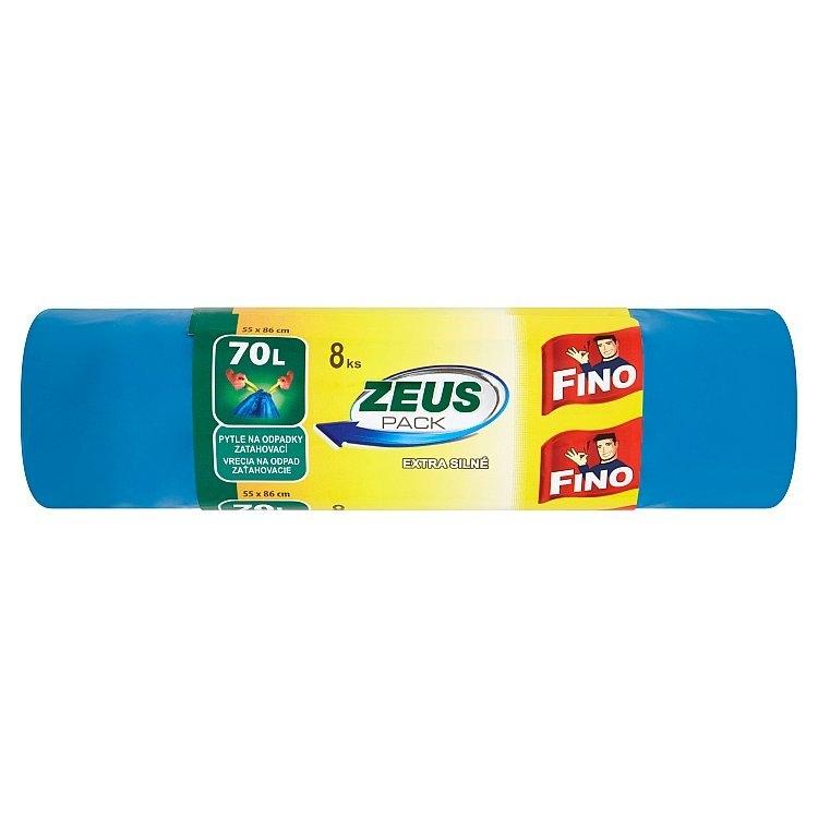 Zeus Pack extra silné zatahovací odpadkové pytle, 70 l 8 ks
