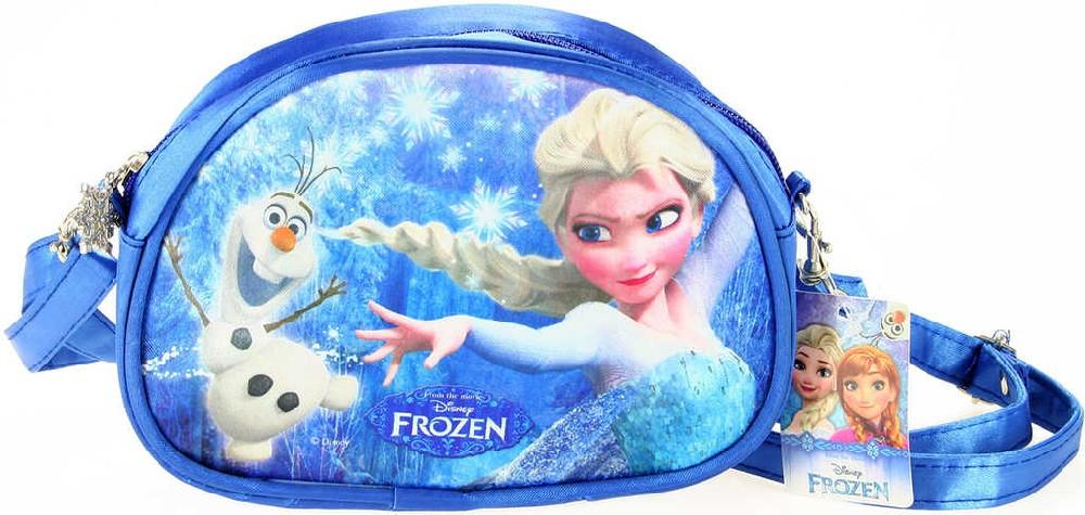 Taštička dětská přes rameno modrá Frozen (Ledové Království) holčičí