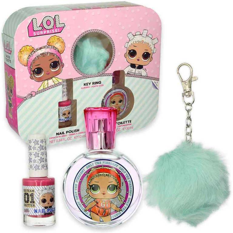 L.O.L. Surprise sada dárková toaletní voda s lakem na nehty dětská kosmetika