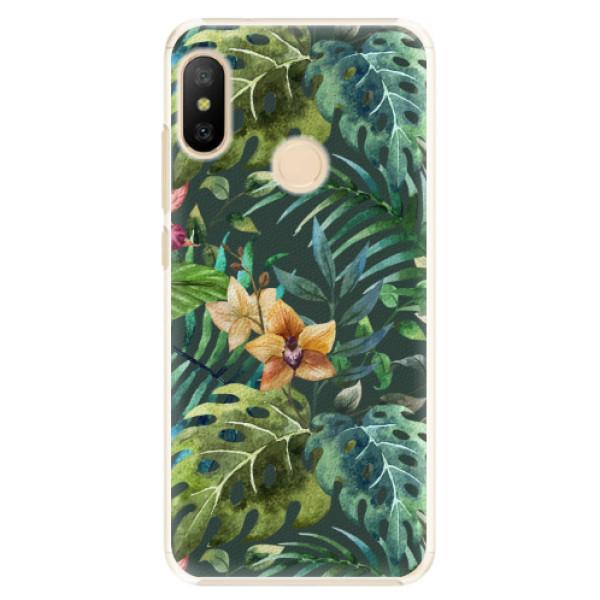 Plastové pouzdro iSaprio - Tropical Green 02 - Xiaomi Mi A2 Lite