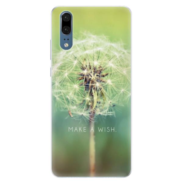 Silikonové pouzdro iSaprio - Wish - Huawei P20