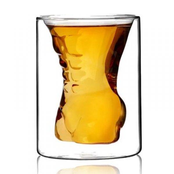 Sexy sklenice s dvojitou stěnou - muž