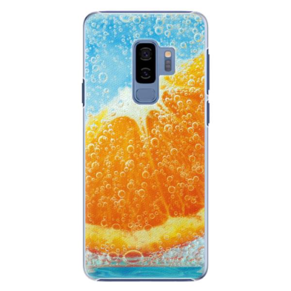 Plastové pouzdro iSaprio - Orange Water - Samsung Galaxy S9 Plus