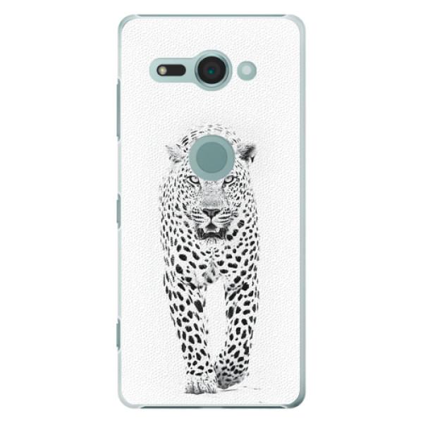 Plastové pouzdro iSaprio - White Jaguar - Sony Xperia XZ2 Compact