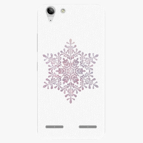 Plastový kryt iSaprio - Snow Flake - Lenovo Vibe K5