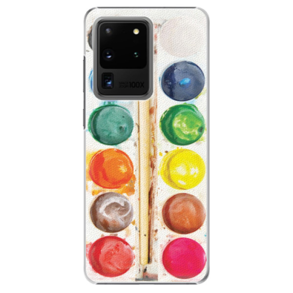 Plastové pouzdro iSaprio - Watercolors - Samsung Galaxy S20 Ultra
