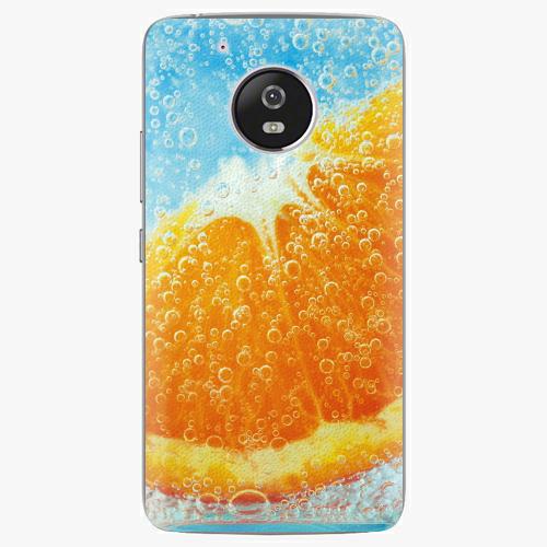 Plastový kryt iSaprio - Orange Water - Lenovo Moto G5
