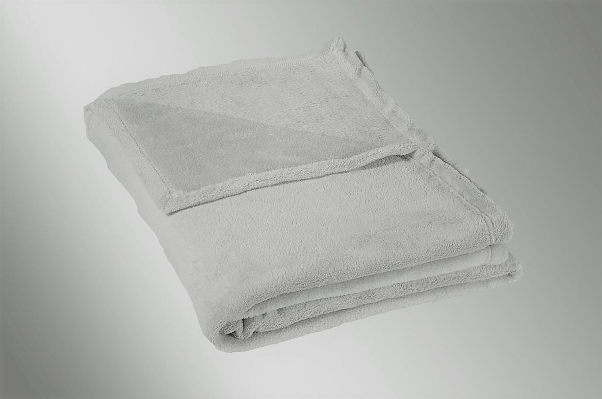 Dětská micro deka 75x100cm 300g/m2 světle šedá