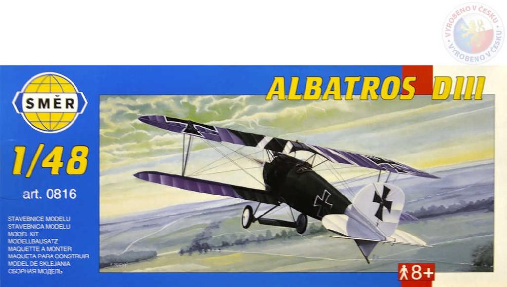 SMĚR Model letadlo Albatros D III 1:48 (stavebnice letadla)