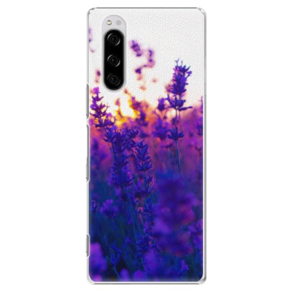 Plastové pouzdro iSaprio - Lavender Field - Sony Xperia 5