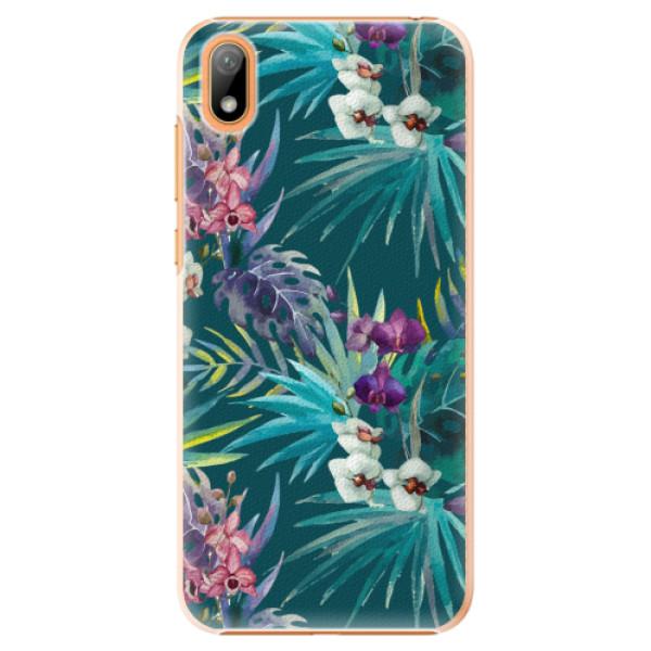 Plastové pouzdro iSaprio - Tropical Blue 01 - Huawei Y5 2019