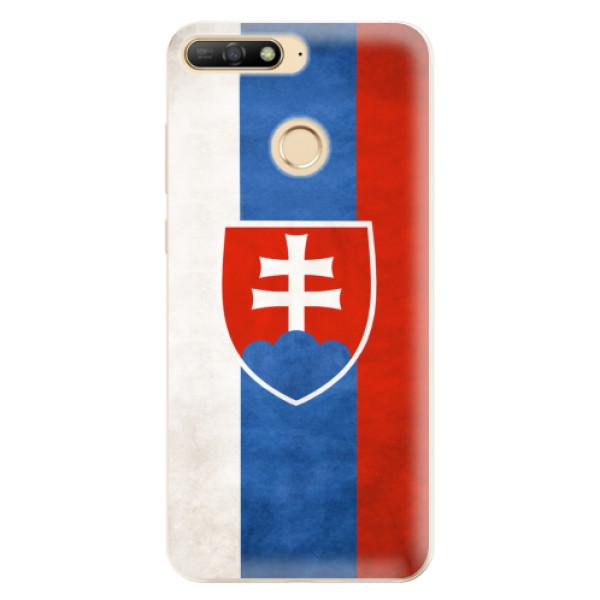 Odolné silikonové pouzdro iSaprio - Slovakia Flag - Huawei Y6 Prime 2018