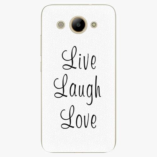Plastový kryt iSaprio - Live Laugh Love - Huawei Y3 2017