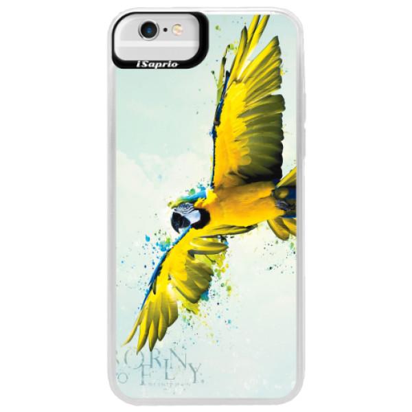 Neonové pouzdro Blue iSaprio - Born to Fly - iPhone 6 Plus/6S Plus