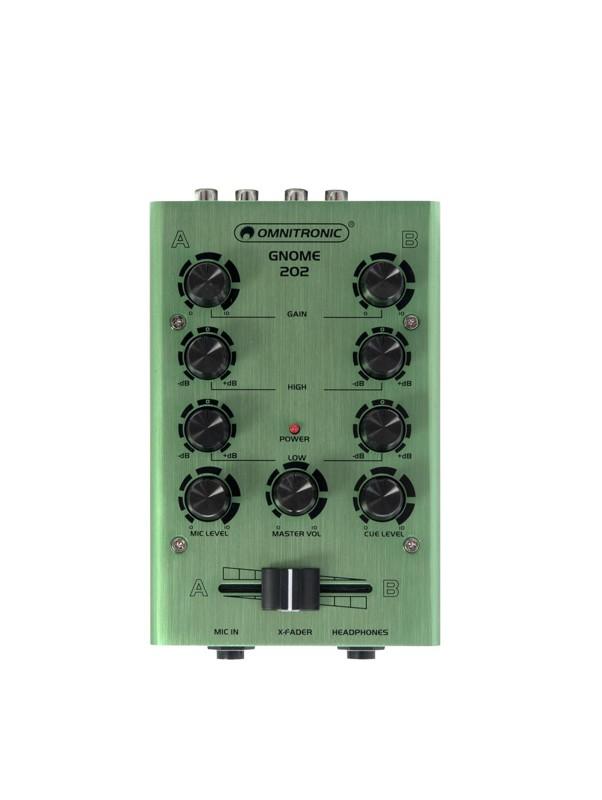 Omnitronic GNOME-202, 2-kanálový, zelený