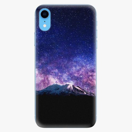 Silikonové pouzdro iSaprio - Milky Way - iPhone XR
