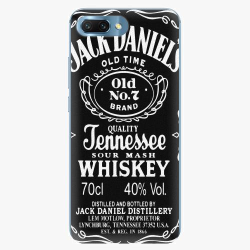Plastový kryt iSaprio - Jack Daniels - Huawei Honor 10
