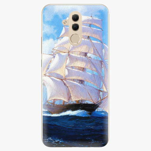 Plastový kryt iSaprio - Sailing Boat - Huawei Mate 20 Lite