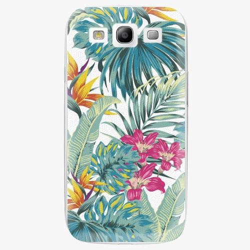 Plastový kryt iSaprio - Tropical White 03 - Samsung Galaxy S3