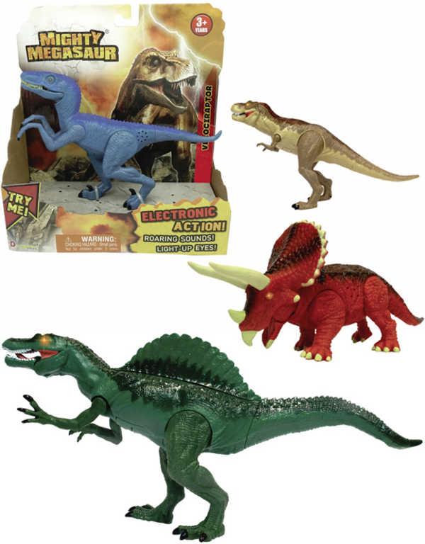 ADC Mighty Megasaur akční dinosaurus 20 cm na baterie 4 druhy