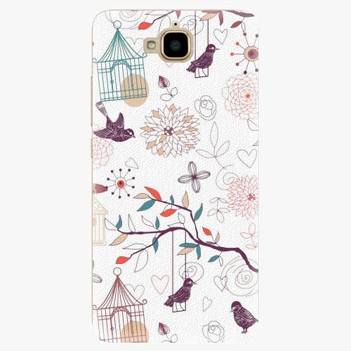 Plastový kryt iSaprio - Birds - Huawei Y6 Pro