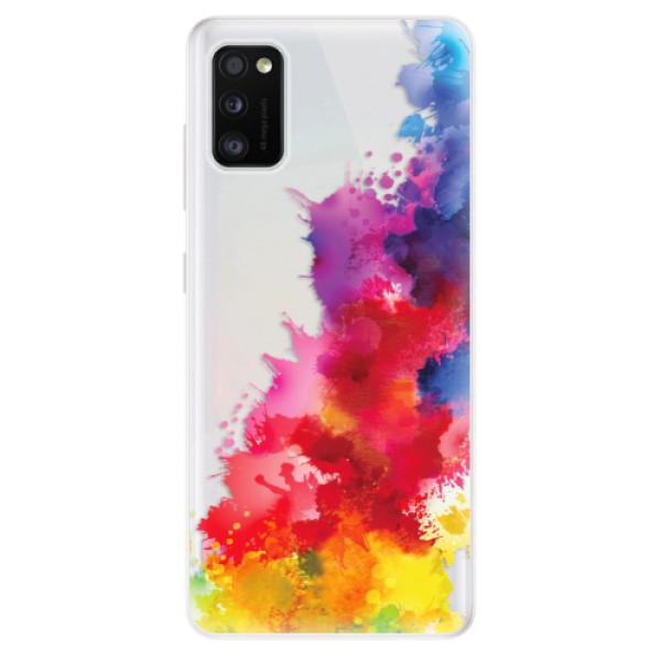 Odolné silikonové pouzdro iSaprio - Color Splash 01 - Samsung Galaxy A41