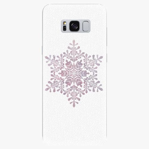 Plastový kryt iSaprio - Snow Flake - Samsung Galaxy S8 Plus